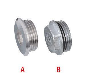 Stainless Steel Plugs for Underfloor Heating Manifold pictures & photos