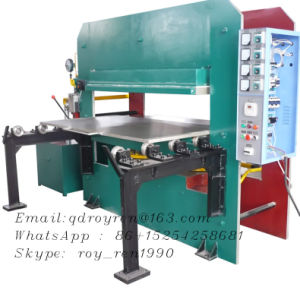 Golden Supplier Rubber Mat Making Machine, Rubber Mat Curing Press (XLB 800X800) pictures & photos