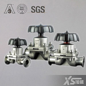 Stainless Steel Manual Sanitary Diaphragm Valves pictures & photos