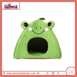 Lovely Frog Pet Bed in Green pictures & photos