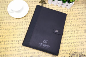 Leather Notebook Case / Leather Notebook Cover / Custom Notebooks pictures & photos