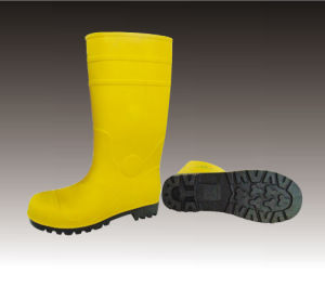 PVC Rain Boots with Steel, CE pictures & photos