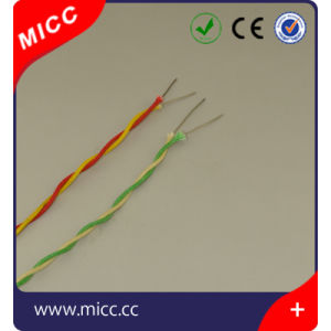 Twisted Type K Fiberglass Insulation Thermocouple Extension Wire pictures & photos