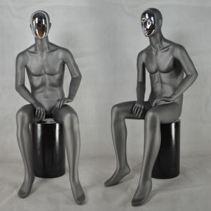 2015 New Modern Male Sitting Mannequin with Changeable Face pictures & photos