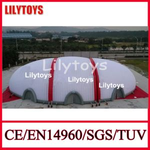 New Design! ! Giant White Color Inflatable Tennis Tent Inflatable Sports Tent Exhibition Tent for Sale (J-IT-10) pictures & photos