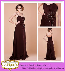 Beading Sleeveless Sequins Sweetheart a-Line Mother of The Bride Dress (MI 3525)