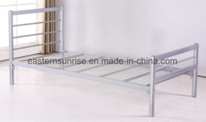 Cheap Price Metal Steel Iron Single Bed for Worker pictures & photos