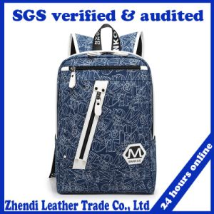 Korean Tide Backpack Female College Wind Bag Printing (8033) pictures & photos