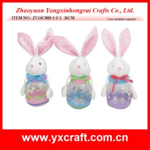 Easter Decoration (ZY14C880-1-2-3 36CM) Bunny Candy Jar pictures & photos