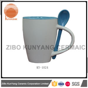 Mug with Spoon Promotion Mug pictures & photos