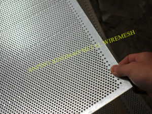 2mm Aluminum Perforated Sheet / Decorated Perforated Metal (XM-D43) pictures & photos