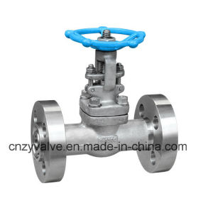 "API602 2500lb 1/2"" A105 Forged Steel Flange Gate Valve (Z41H-DN15-2500LB) pictures & photos"