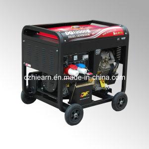 8kw Air-Cooled Diesel Generator Set Portable Model (DG12000E) pictures & photos