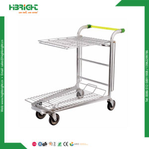 Nestable Heavy Duty Metal Warehouse Cargo Trolley Cart pictures & photos