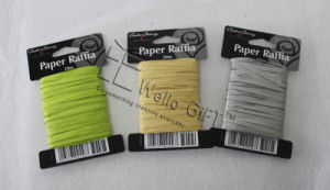 Natural Paper Raffia Ribbon Roll Wholesale pictures & photos