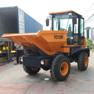 Popular China Cheap 3.0ton Hydraulic Dumper pictures & photos