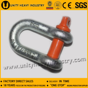 G 210 U. S Type Screw Pin Forged Chain Shackle pictures & photos