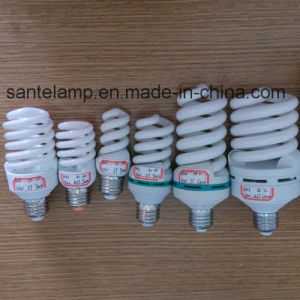 100% Tri-Phosphor 9mm Small Full Spiral 220V Energy Saving Lamp (CE&RoHS) pictures & photos