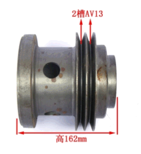 High Quality Wd 615 Parts Fan Driving Pulley pictures & photos