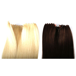 Hair Products 18′′-22′′ Fashion Flip Hair Extension Brazilian Straight Hair Human Hair Extensions Mixed Colors pictures & photos