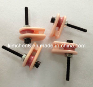 Caged Ceramic Pulley (NT005) Wire Jump Preventer Wire Guide Pulley pictures & photos