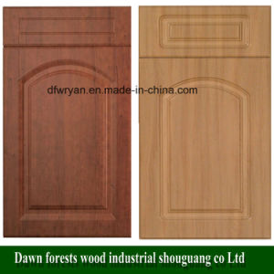 China Kitchen Furniture Parts PVC Film MDF Kitchen Cabinet Door ...