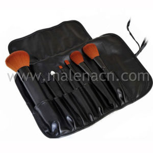 7PCS Portable Makeup Brush with Synthetic Hair pictures & photos