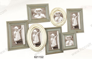 Wooden Antique Collage Photo Frame with Distressing Finish pictures & photos