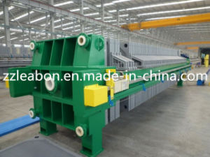 PLC Filter Press Manufactured in China pictures & photos
