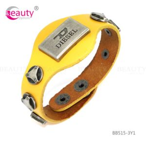 Shinning Charming Fashion Leather Bracelet Jewelry Hot Selling