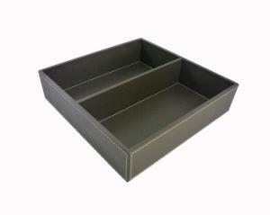 Coffee Leatherette Tray, Guestroom Amenity Tray (PB170)