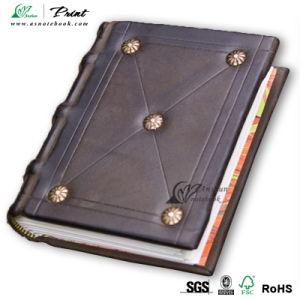 Custom PU Cover Leather Notebook