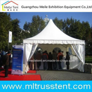 5X5m Movable Outdoor Sales Booth Aluminum Pagoda Tent pictures & photos