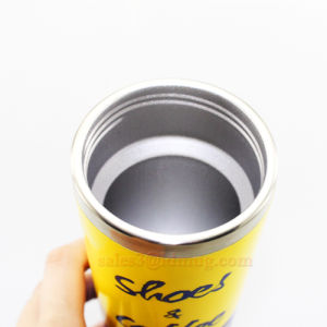 Metal Travel Cup with Plastic Cap pictures & photos