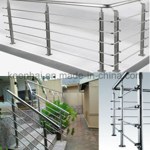 Modern Design Prefab Metal Stainless Steel Stair Railing pictures & photos