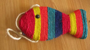 Colorful Sisal Fish, Pet Toy pictures & photos