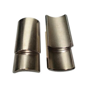 Strong Permanet Arc Neodymium Magnets for Motor pictures & photos