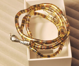 New Exaggerated Winding The Snake Bracelets and Necklace (WY310)