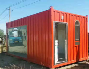 High Quality Prefabricated Living Container House pictures & photos