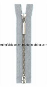 3# No Nickel Cupronickel Double-Slider Zipper