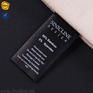 Customized Care Label for Clothing