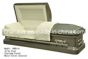 Us Style 18ga Steel Casket 18h9114 pictures & photos