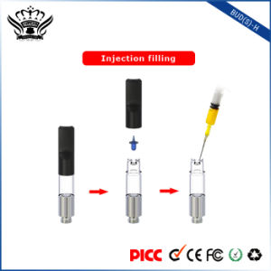 Bud (S) -H 0.5ml No Leakage Refillable Cartridge Cbd Oil Vape Pen Ejuice E Liquid pictures & photos