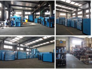 Wind Cooling Industrial High Pressure Screw Air Compressor pictures & photos