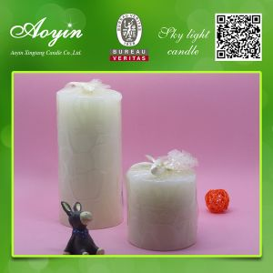 Wholesale 3X5 Pillar Candles/White Candle for Christmas Decorative pictures & photos