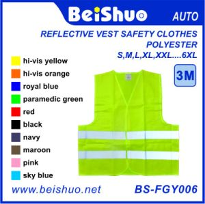 Reflective Vest Safety Clothes 100% Polyester pictures & photos