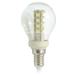 New 220V 110V 120V AC G50 27 5050 SMD LED Corn Candle Bulb Lamp pictures & photos