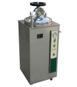 Electric-Heated Vertical Steam Sterilize (hand round automatic) pictures & photos