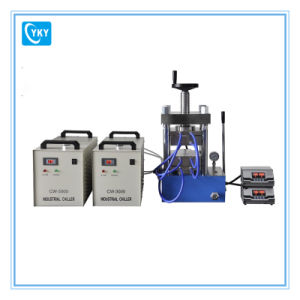 500c High Temperature Hydraulic Lamination Hot Press with Dual Temperature Controllers pictures & photos
