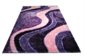 The Way to Heaven Fluffy Silk Carpet Area Rug pictures & photos
